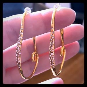 ALEXIS BITTAR ⚜️ Gold/Crystal dust Earrings